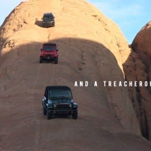 VIDEO: Watch three Jeeps climb some unbelievable inclines of Utah in the 50th Easter Jeep Safari