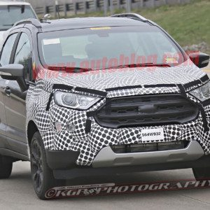 Updated 2017 Ford EcoSport shows new Endeavour inspired face; India bound