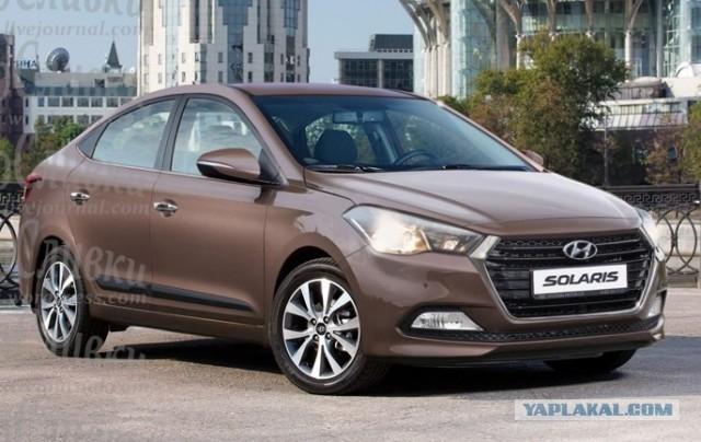 Hyundai solaris new - c3d