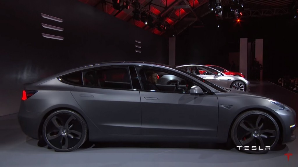 2017 tesla model 3 unveiled specifications and price
