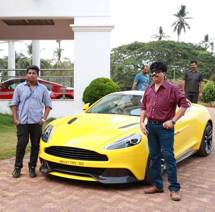 Mangalore India S Third Aston Martin Vanquish Lands In A Bold Shade Of Sunburst Yellow Motoroids