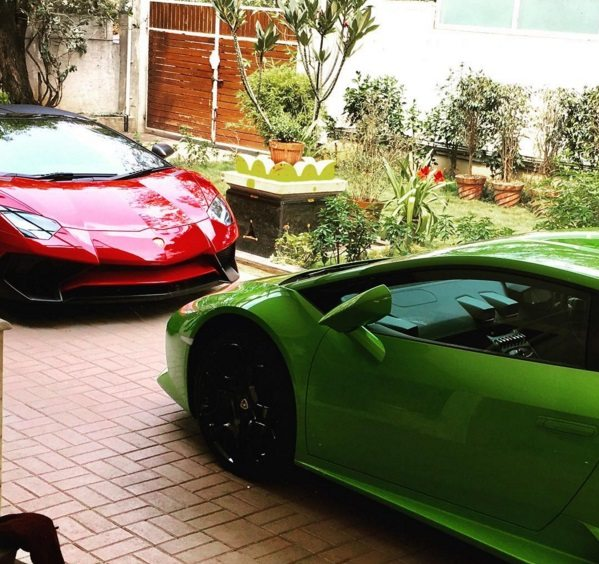Bengaluru Receives India S First Lamborghini Aventador Sv Roadster Motoroids