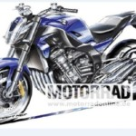 BMW Motorrad Six Cylinder naked 150x150 Rumour Mill: Is BMW Motorrad developing a six cylinder street fighter?