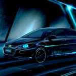 Chevrolet Cruze TRON Legacy 1 150x150 Beijing Motor Show 2016: This TRON Legacy inspired Chevrolet Cruze is menacing