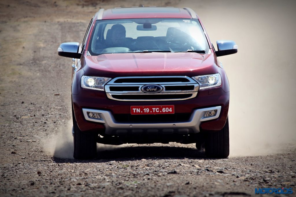 Ford Endeavour 3.2 AT 4x4 Action red (3)
