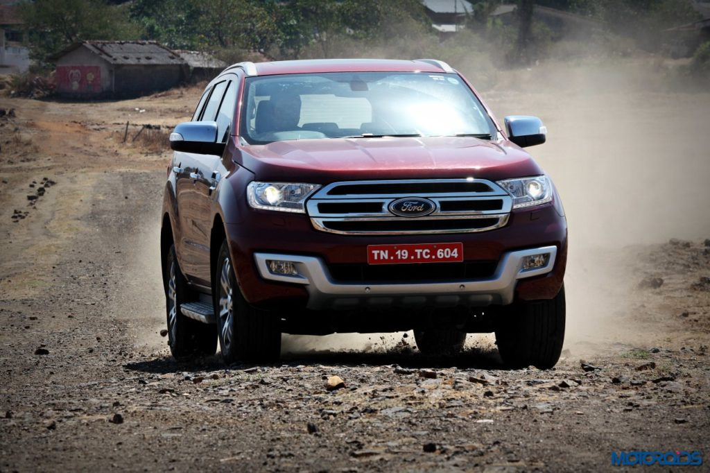 Ford Endeavour 3.2 AT 4x4 Action red (5)