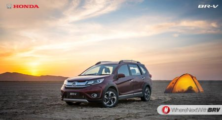 Honda BR-V to be launched on May 5th, bookings begin