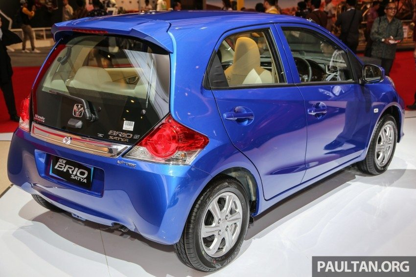 Honda brio facelift and brio rs variant launched in for Honda brio price in india