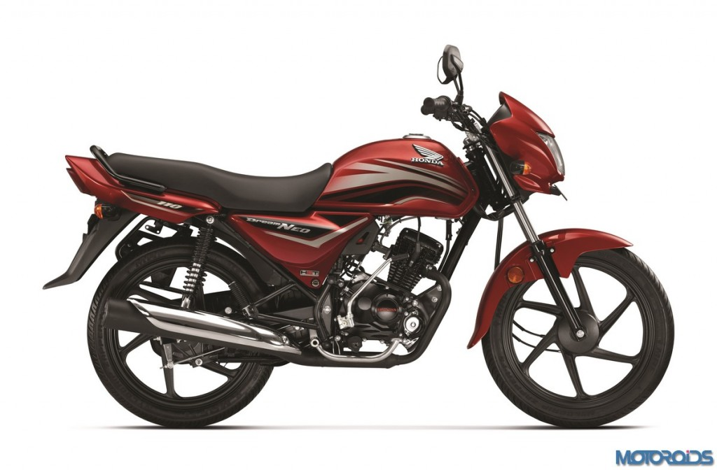 2016 Honda Dream Neo with new graphics and 3 new colours introduced ...