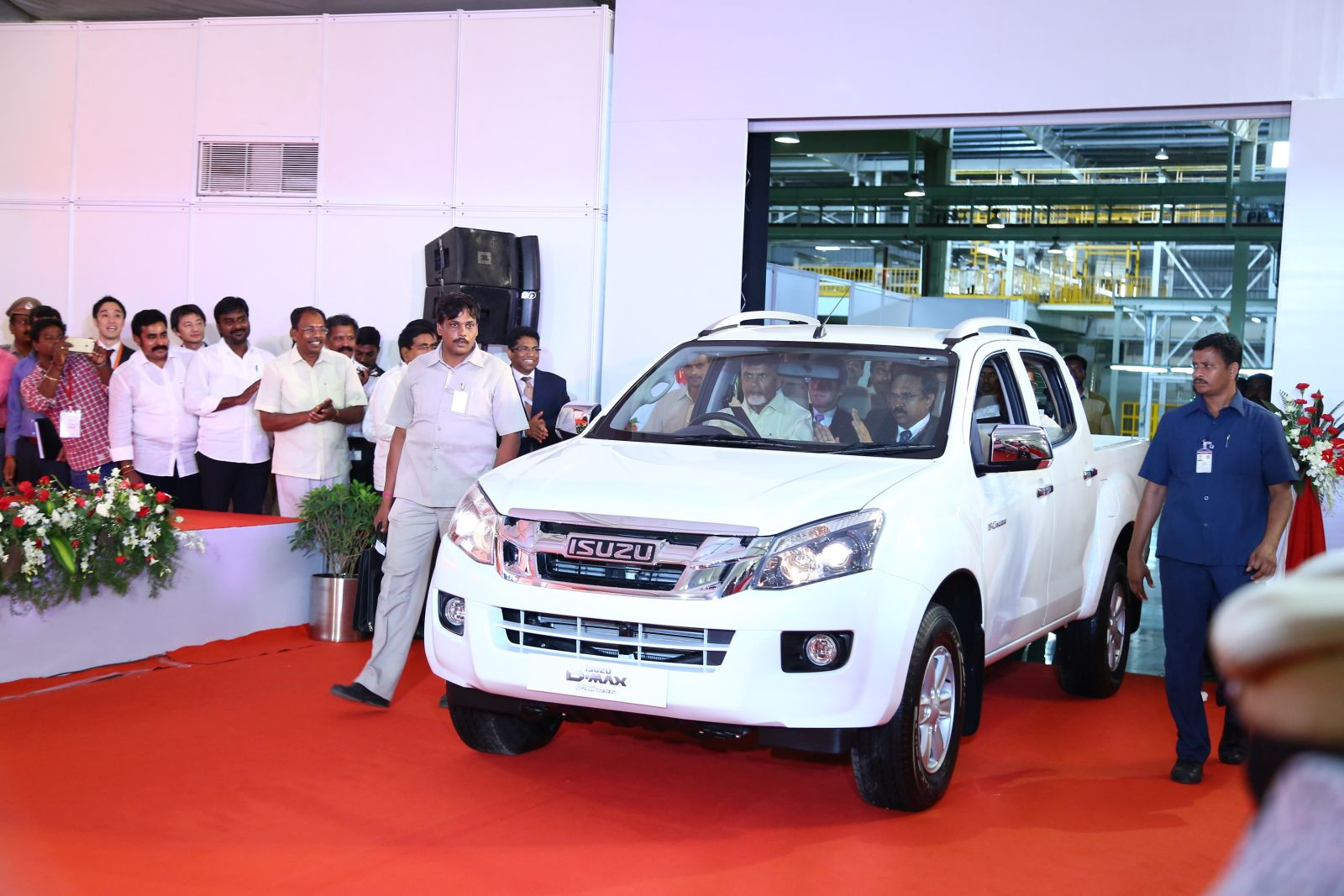 First India Made Isuzu Motors D Max Pickup Rolls Out Of