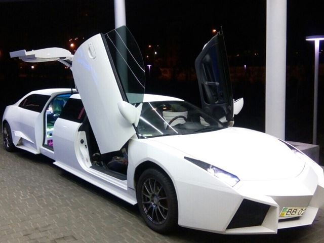 This seven metre long Lamborghini Reventon replica was a Mitsubishi Eclipse before | Motoroids