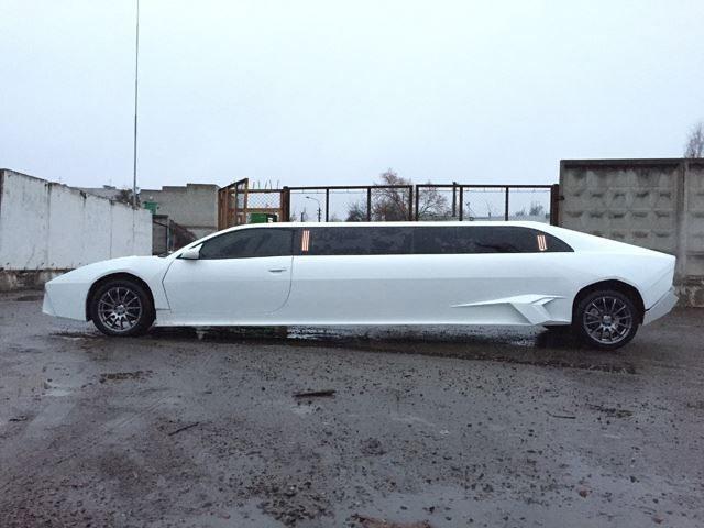 This Seven Metre Long Lamborghini Reventon Replica Was A