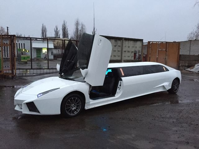 This Seven Metre Long Lamborghini Reventon Replica Was A