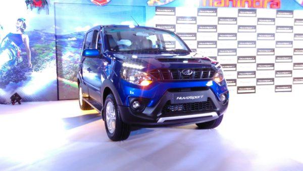 Mahindra NuvoSport launch (2)