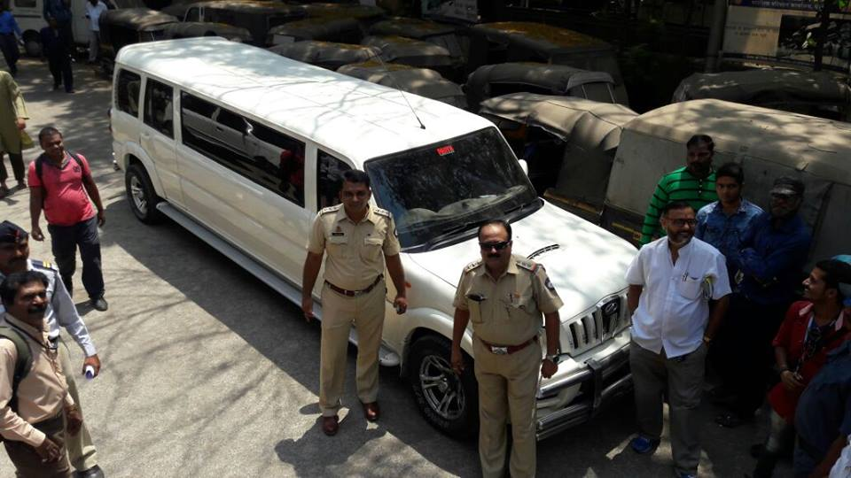 Panvel Rto Strikes Again Impounds Another Mahindra