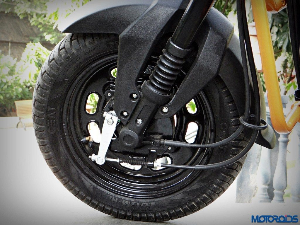 New Honda Navi Review Front brakes (38)