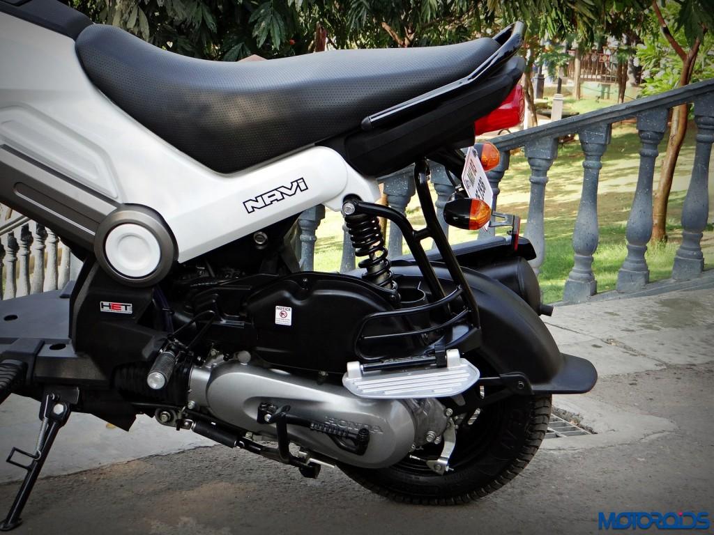 New Honda Navi Review Saree guard and footrest(63)