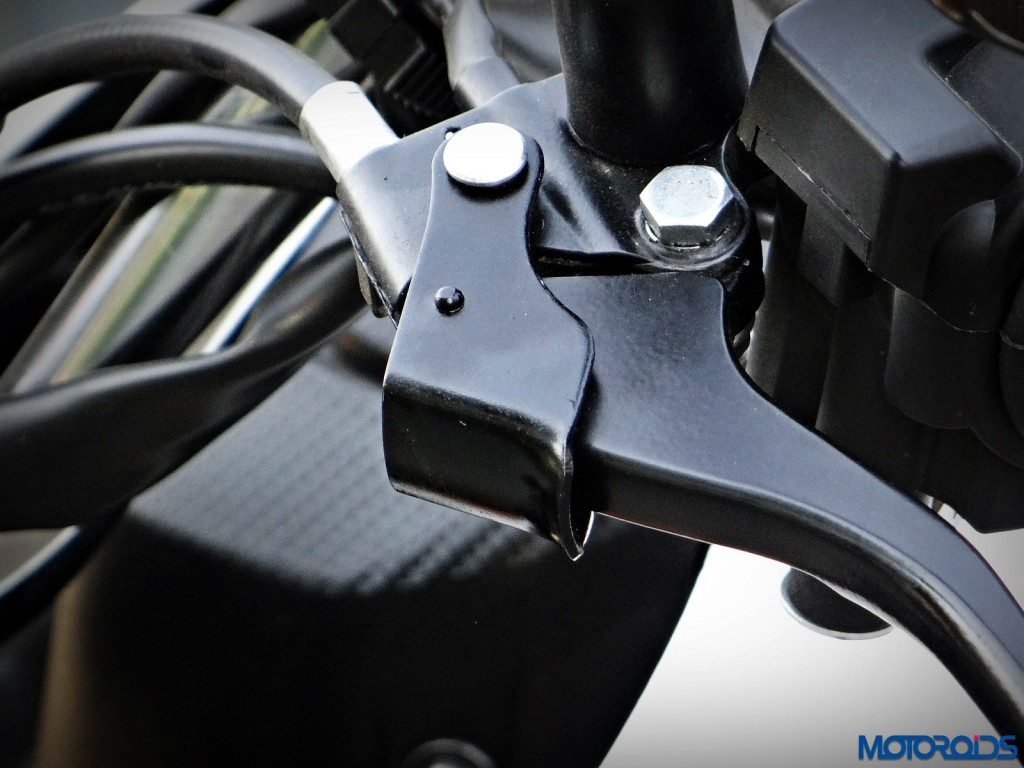 New Honda Navi Review parking brake (55)