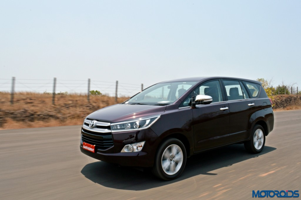 New Toyota Innova Crysta Review 2 8 At And 2 4 Mt
