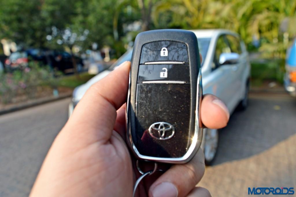 New Toyota Innova Crysta key