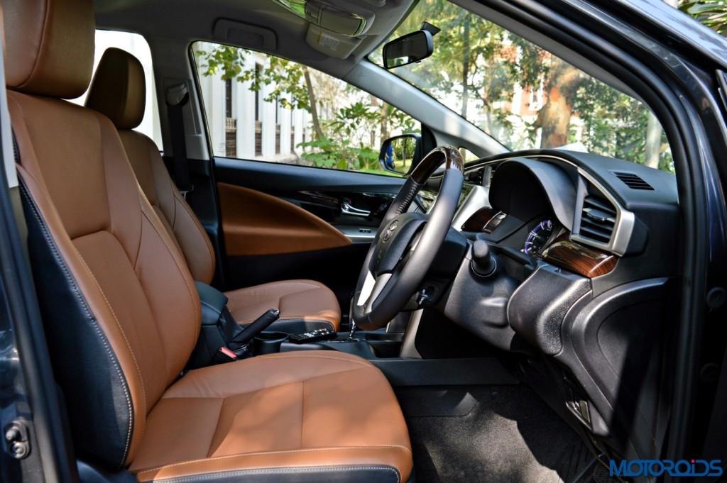 New Toyota Innova Crysta seats (2)