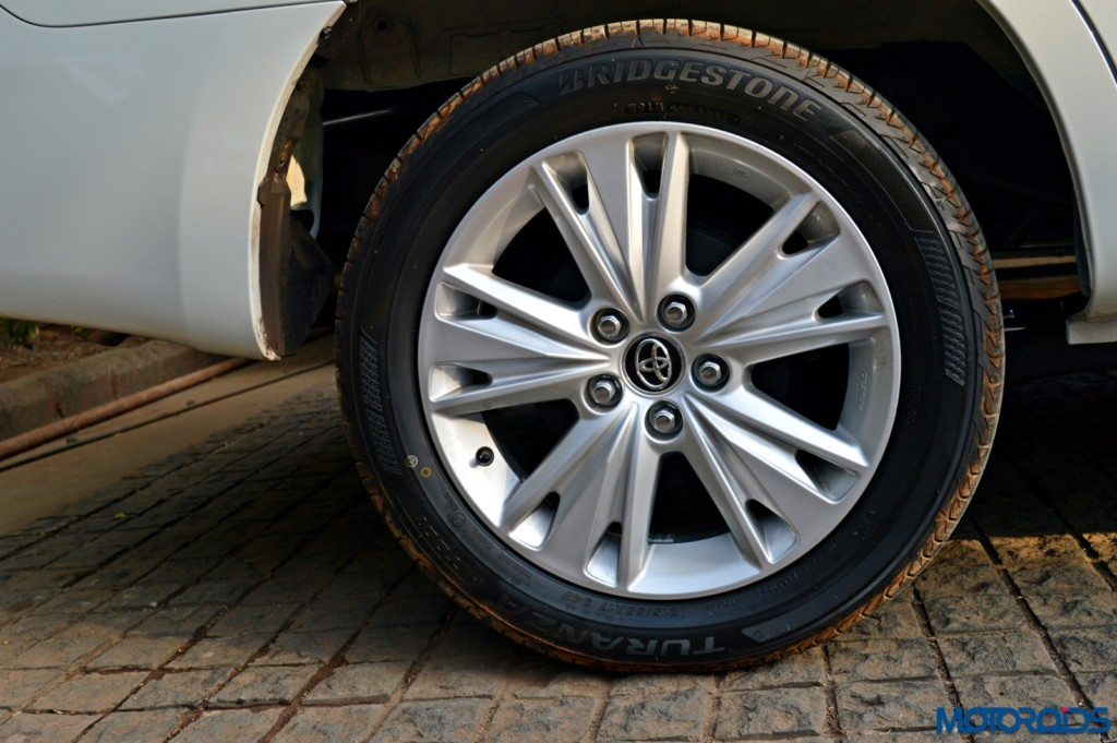 New Toyota Innova Crysta wheel
