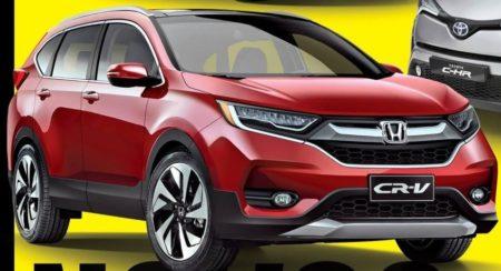 Next generation Honda CR-V rendered; gets bold new styling