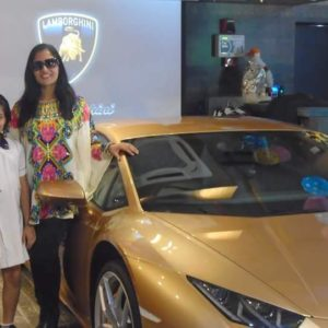 Kolkata: India's first lady Lamborghini owner receives country's first golden coloured Huracan