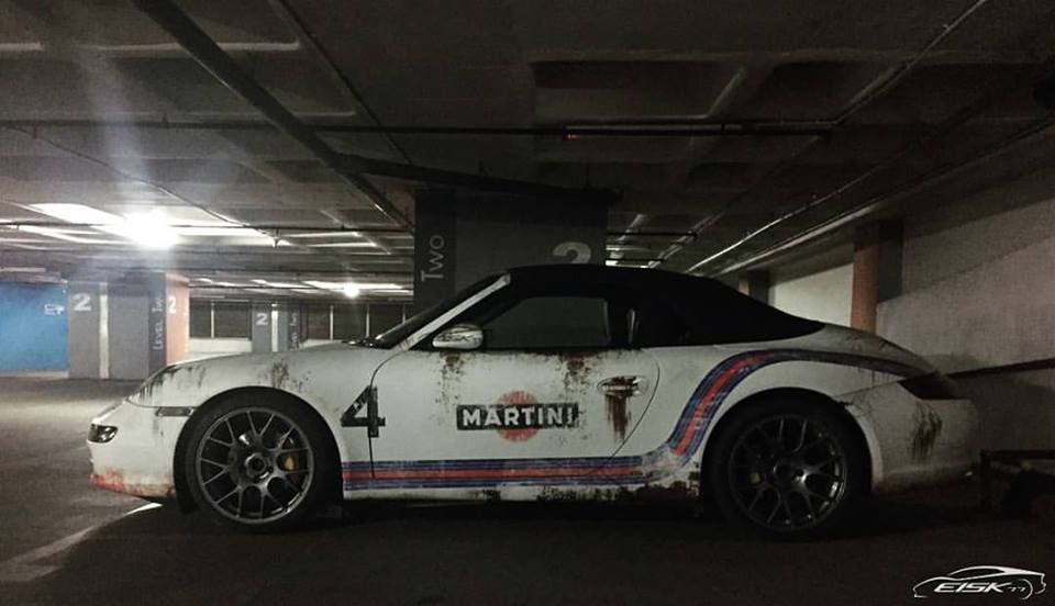 Porsche 911 Cabriolet From Kerala Wears India S First Rust Wrap Motoroids