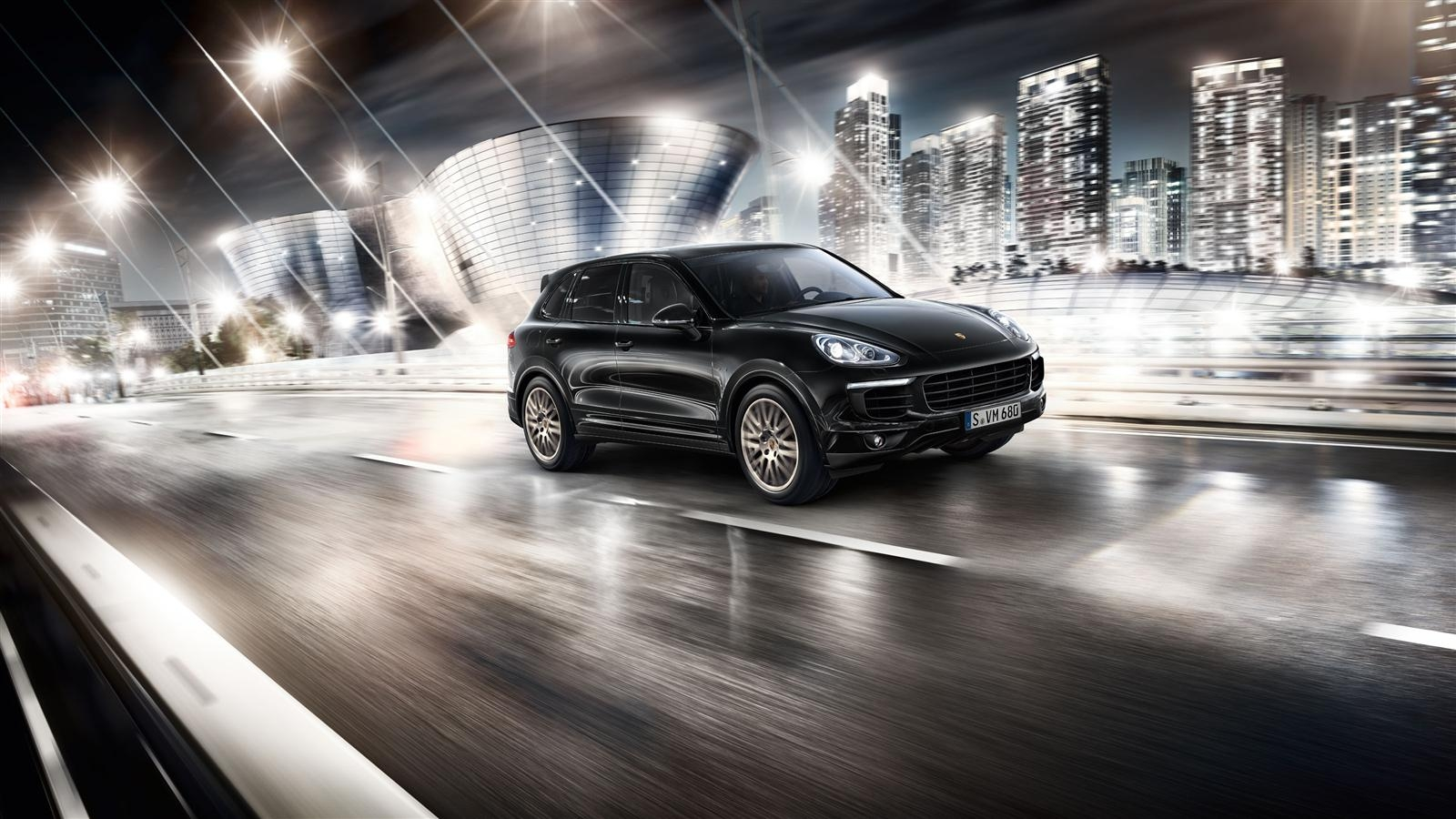porsche cayenne and cayenne s e hybrid platinum edition unveiled motoroids. Black Bedroom Furniture Sets. Home Design Ideas