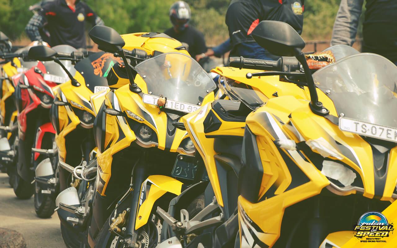 Pulsar festival of speed mumbai Hyderabad
