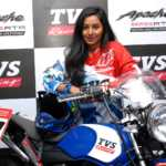 TVS Racing Shreya Iyer 2 150x150 Shreya Iyer joins TVS Racing; becomes first woman rider to represent the team in Indian National Rally championship
