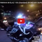Yamaha M Slaz Speedtest 1 150x150 VIDEO: Yamaha M Slaz/Xabre does 140kph in its top speed test!