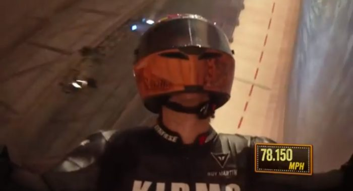 Guy Martin Sets A New World Record On The Wall Of Death