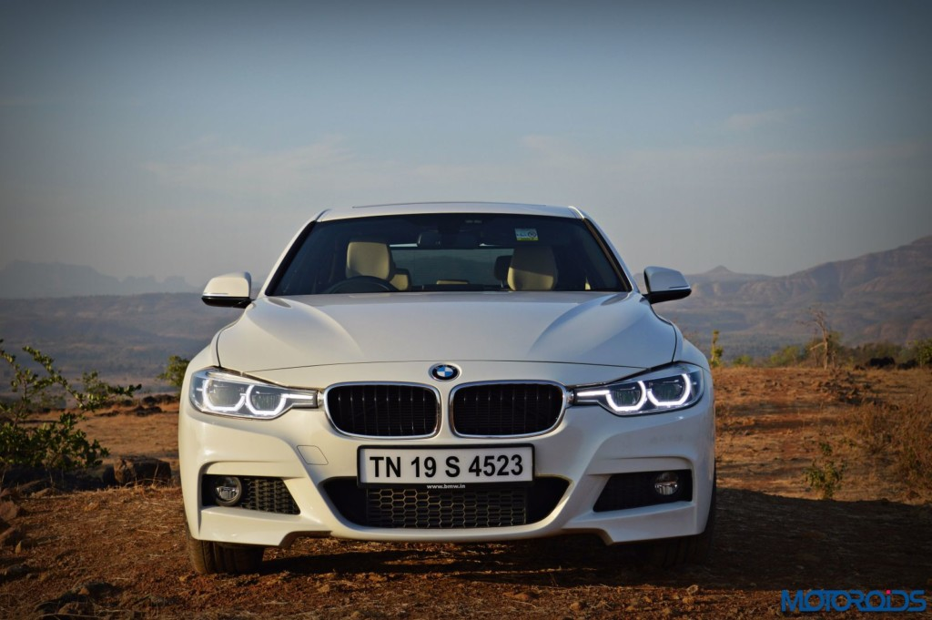 2016 BMW 320d India front white
