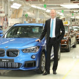 2016 BMW X1 rolls out from the company's Chennai plant