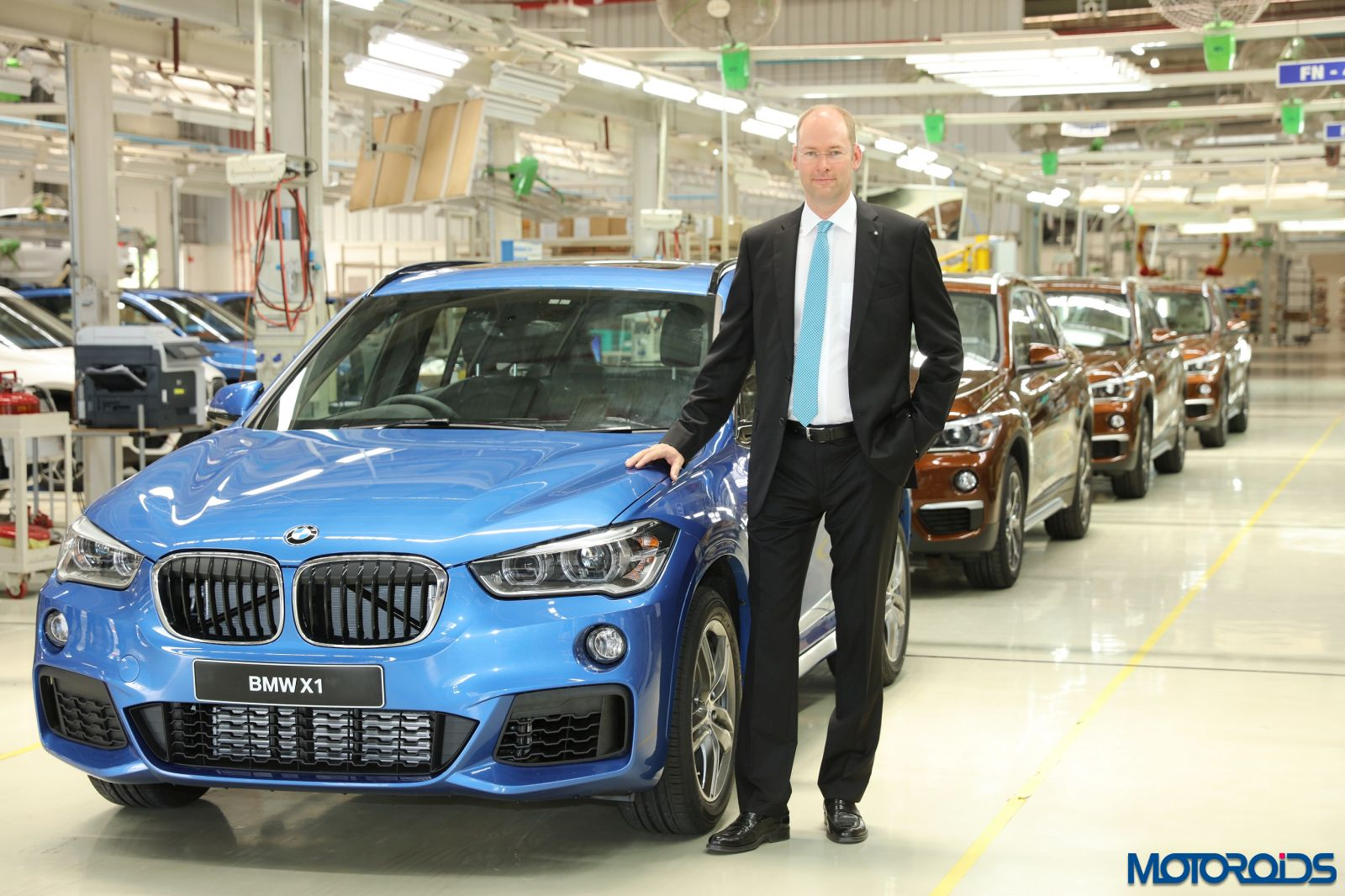 2016 Bmw X1 Rolls Out From The Company S Chennai Plant Motoroids