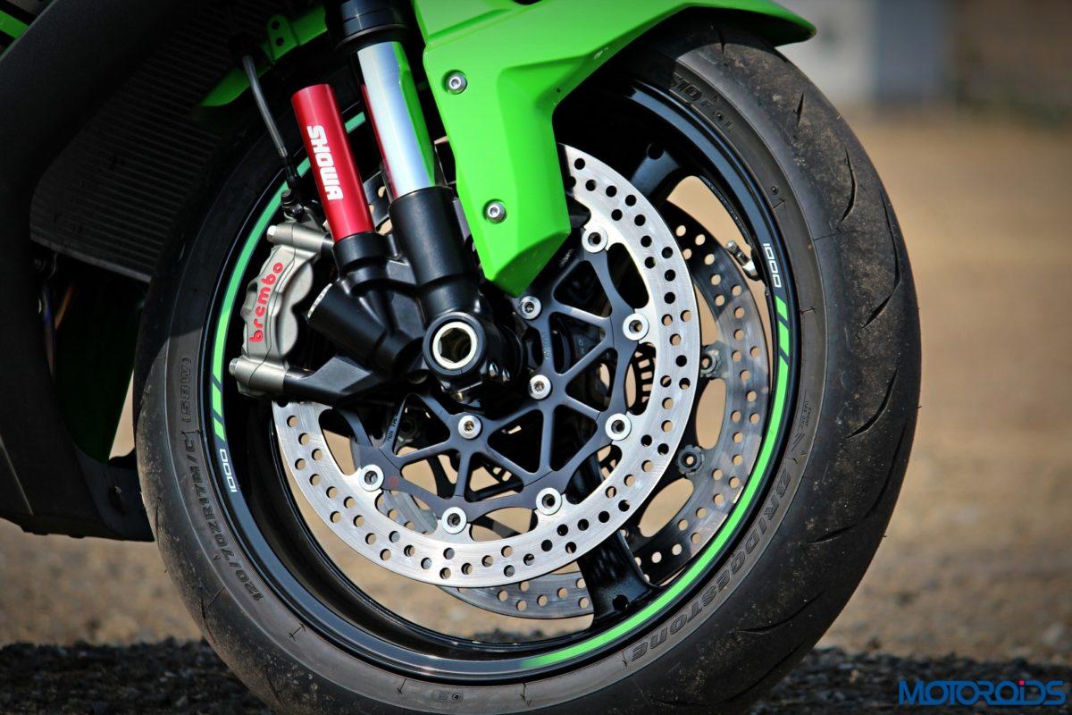 2016 Kawasaki Ninja ZX 10R – Review – Details – Suspension – Front Brake