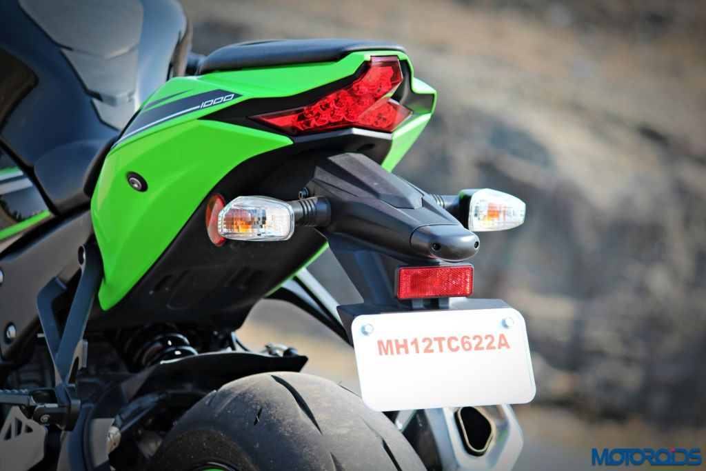 2016 Kawasaki Ninja ZX-10R - Review - Details - Tail Light (2)