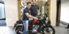 Aamir Khan Bajaj V15 4 100x50 Aamir Khan becomes a proud owner of Bajaj V; motorcycle visually customised for the actor