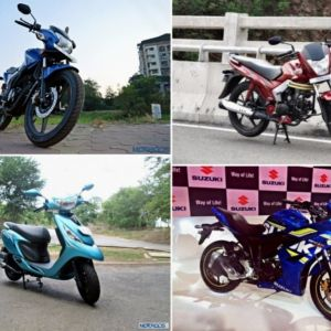 FY 2015-16 two-wheeler exports from India : Here's the list of biggest gainers and losers