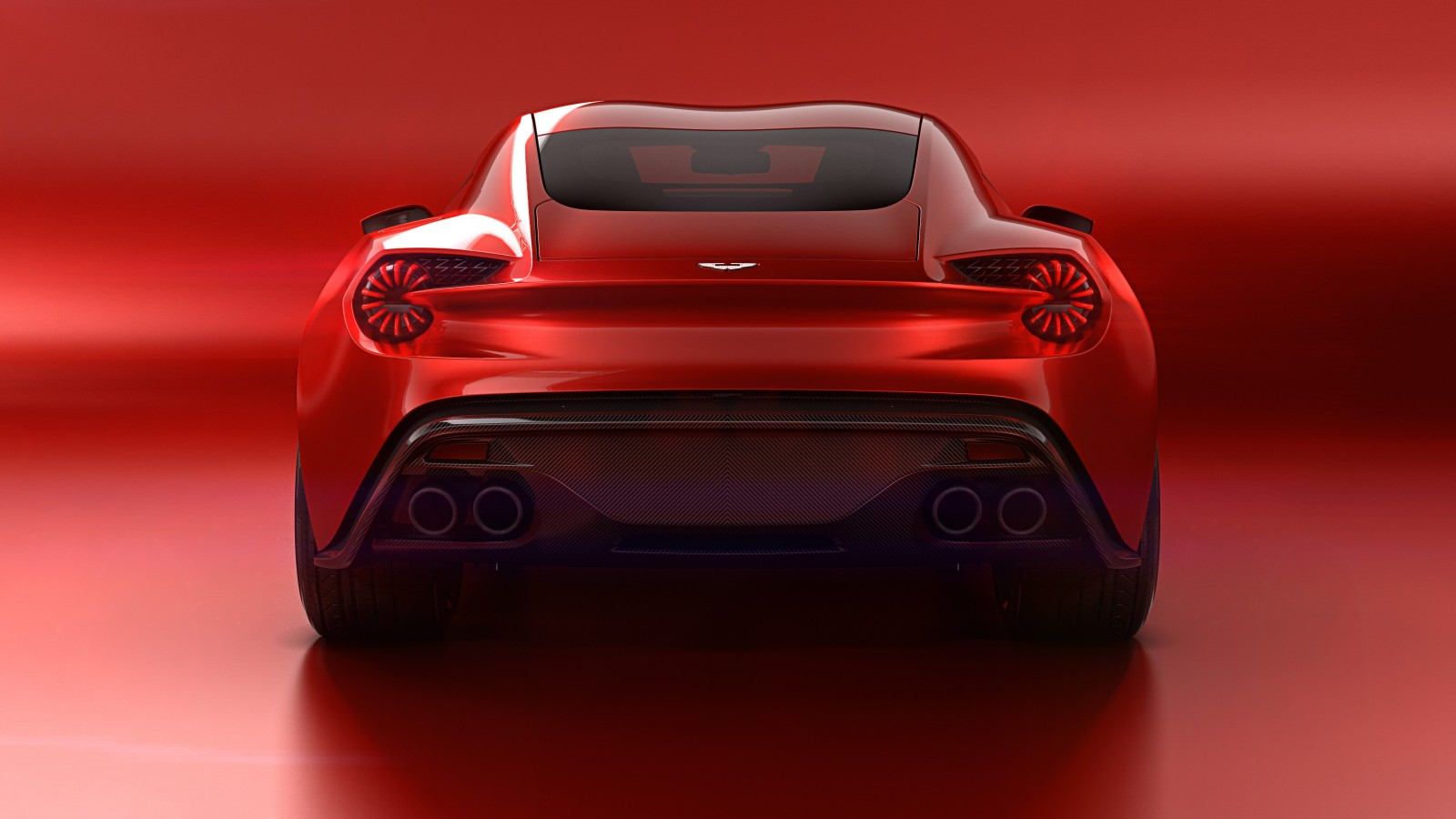 Aston Martin Vanquish Zagato Concept Unveiled Official Details And Images on aston martin v12 zagato