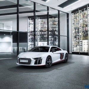 Audi R8 V10 plus Selection 24h edition pays homage to its LMS cousin