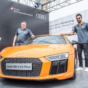 Audi R8 V10 Plus Virat Kohli 3 180x180 Next generation Audi R8 V10 Plus launched, priced at INR 2.55 crores (ex showroom Maharashtra)