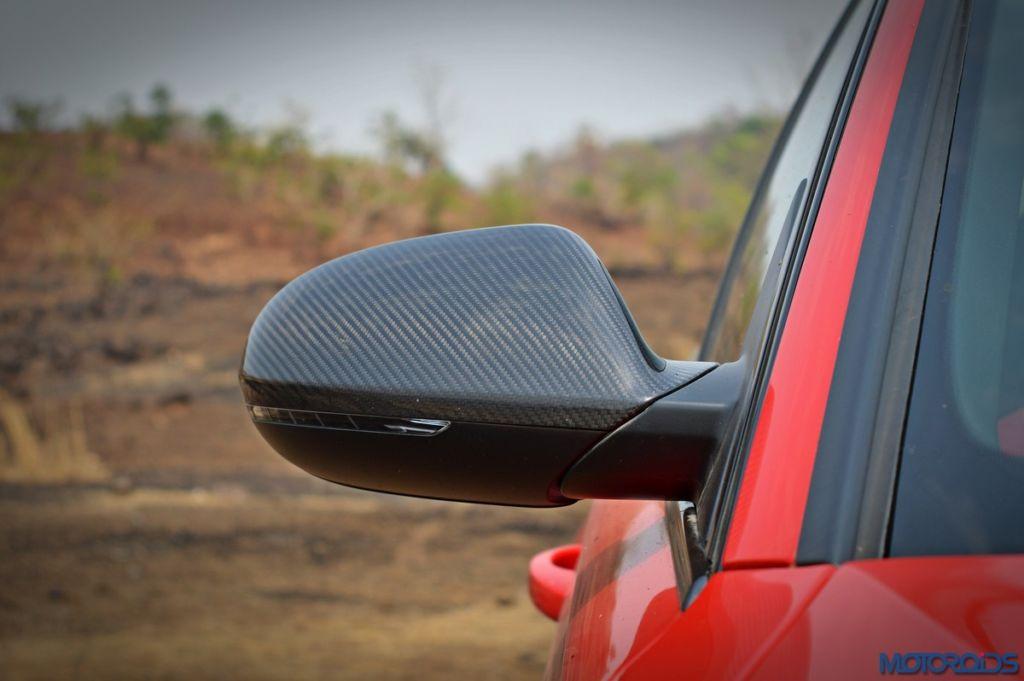 Audi RS6 Avant carbon ORVM cap