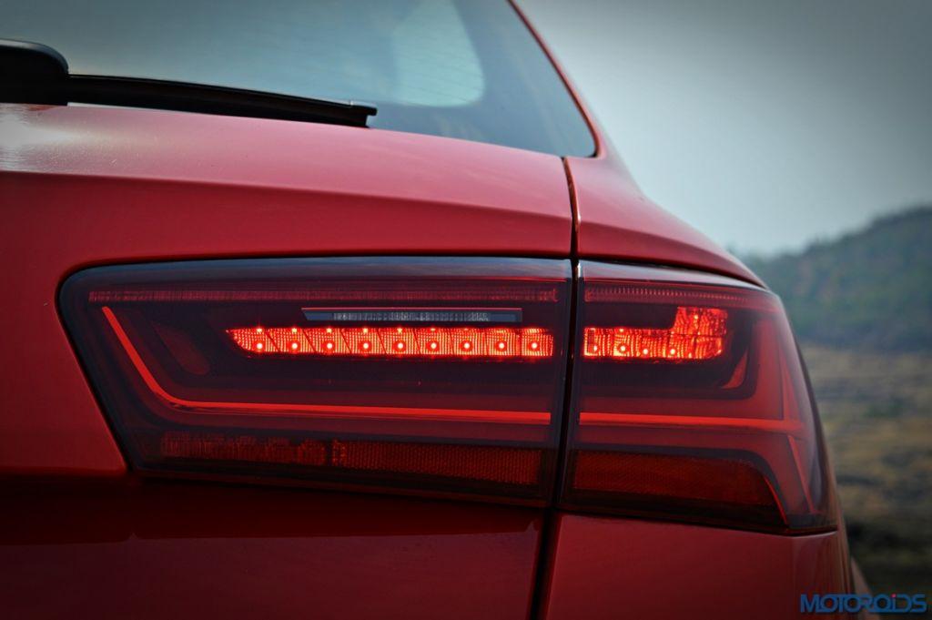 Audi RS6 Avant tail lamp