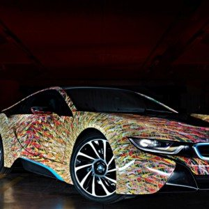 VIDEO: BMW i8 Futurism Edition celebrates 50 years of BMW history in Italy