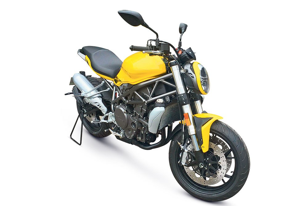 Benelli - Upcoming 750cc Roadster - 1