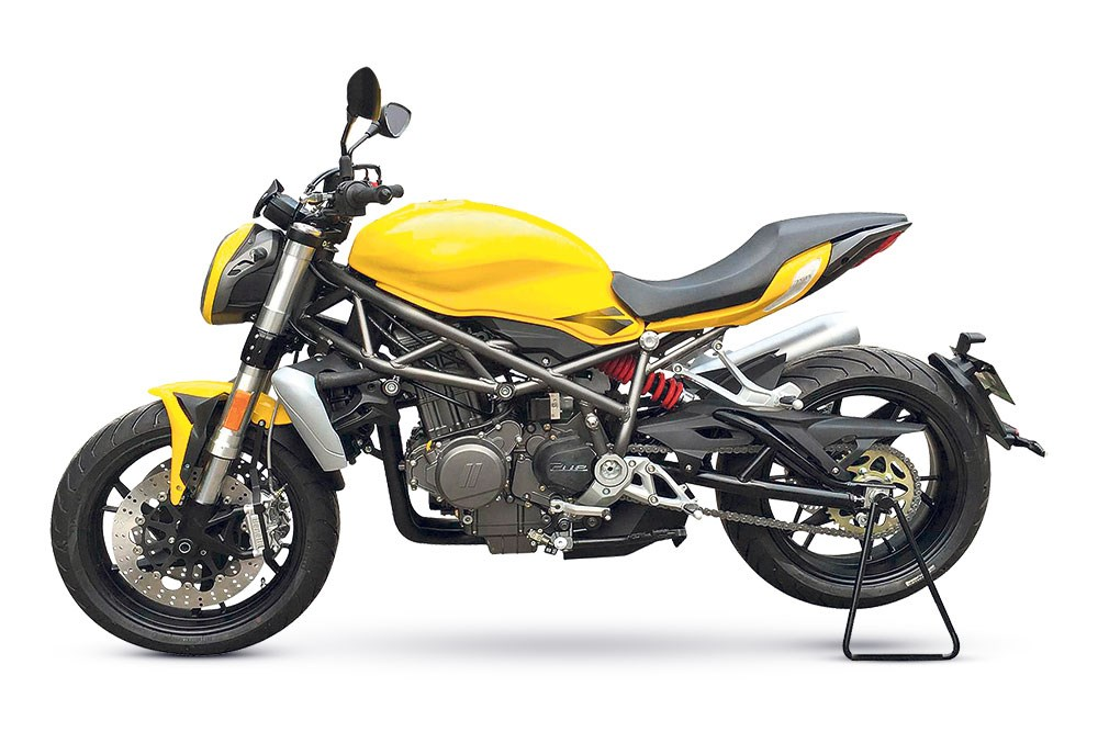 Benelli - Upcoming 750cc Roadster - 2