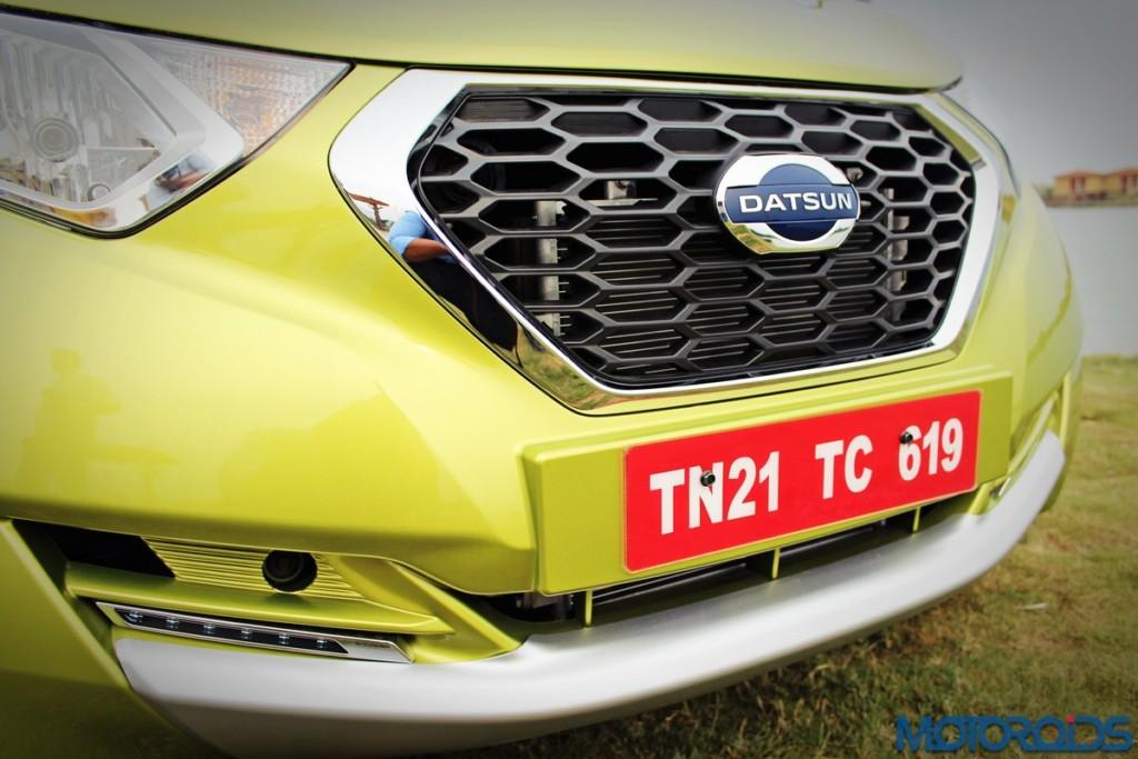 Datsun redi-Go front grille (3)